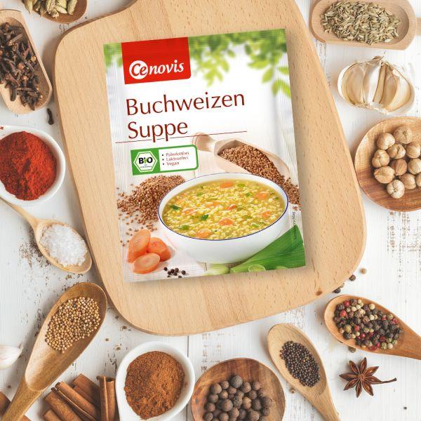 Buchweizen Suppe, bio