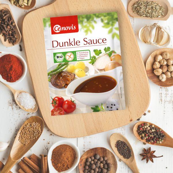 Dunkle Sauce, bio