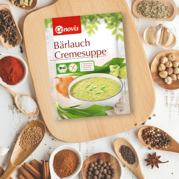 Bärlauch Cremesuppe, bio