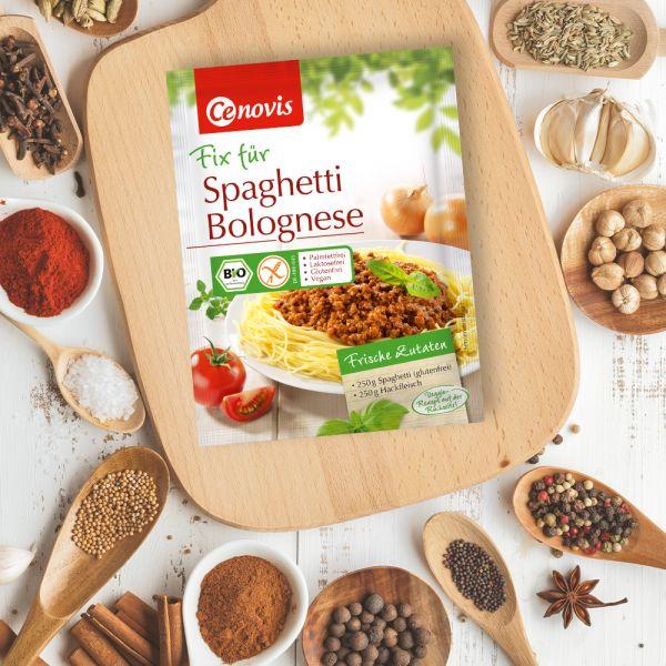Fix für Spaghetti Bolognese, bio