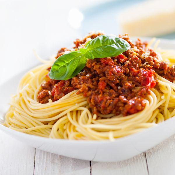 Spaghetti Bolognese Originale glutenfrei