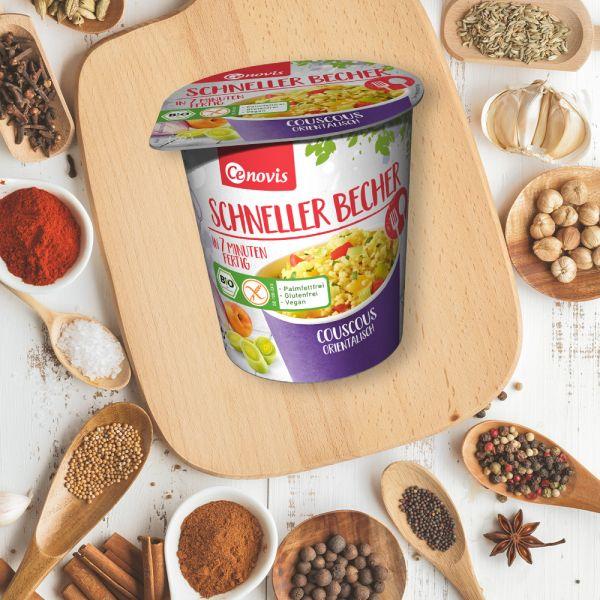 Couscous orientalisch bio