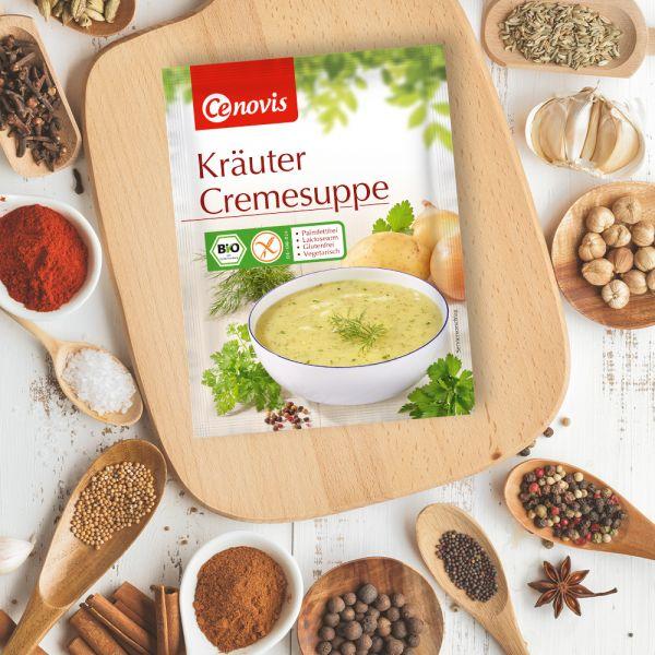 Kräuter Cremsuppe, bio