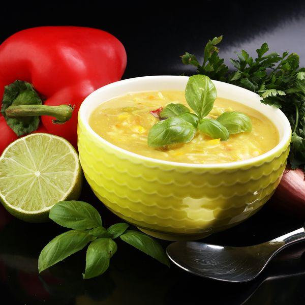 Thai Curry mit Hühnchenbrust glutenfrei