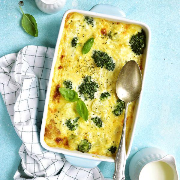 Herzhafter Broccoli Gratin glutenfrei