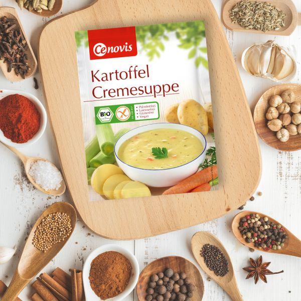 Kartoffel Cremesuppe, bio