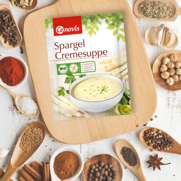Spargel Cremesuppe, bio