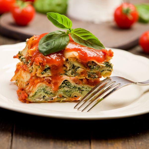 Gemüse-Lasagne vegetarisch glutenfrei