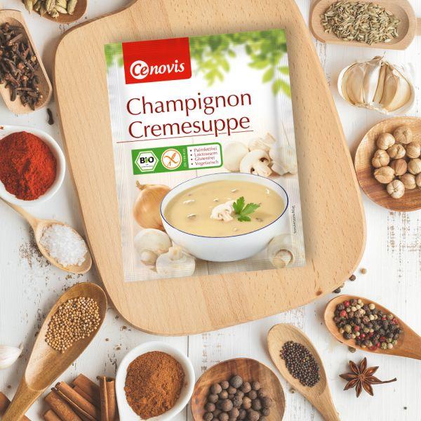 Champignon Cremesuppe, bio
