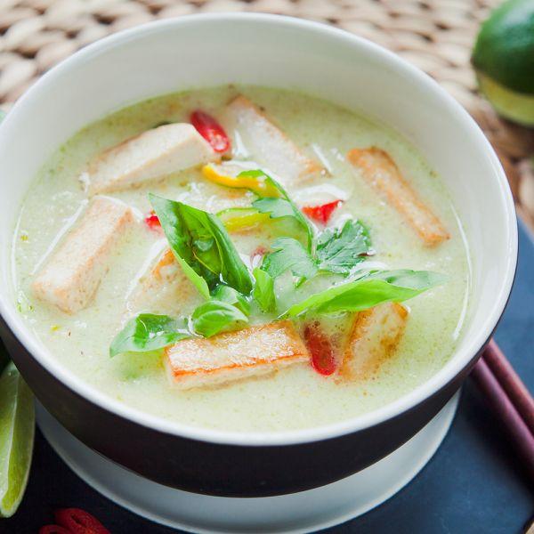 Thai Curry vegan glutenfrei